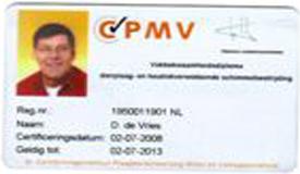 pmv diploma certificaat